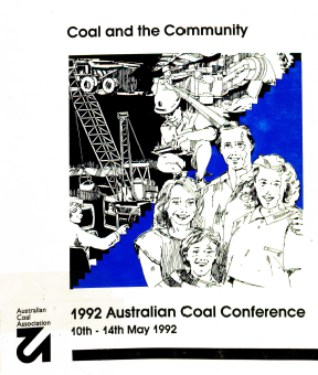 1992 australian coal conference cover
