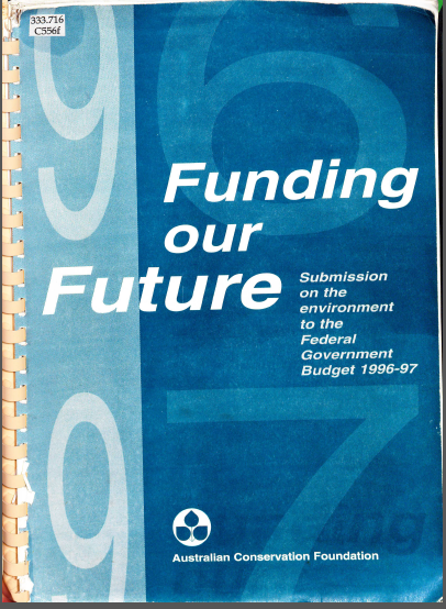 1996 funding future
