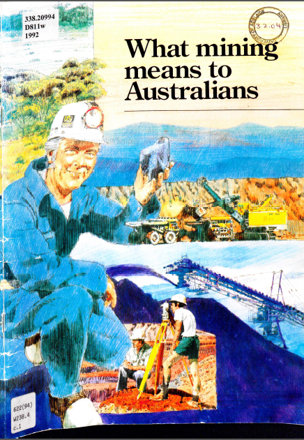 what mining means to australia