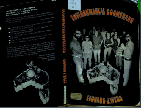 1973 environmental boomerang cover