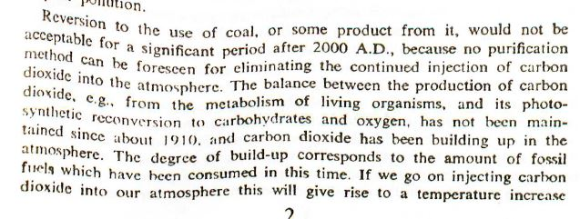 1975 bockris in tcpa on coal climate