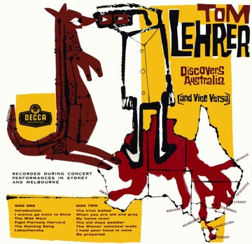 tom lehrer discovers australia