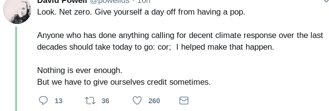 tweet about give self day off