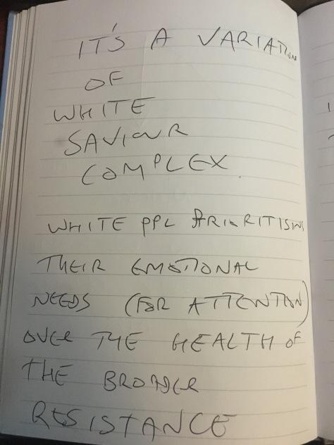 white saviour variation