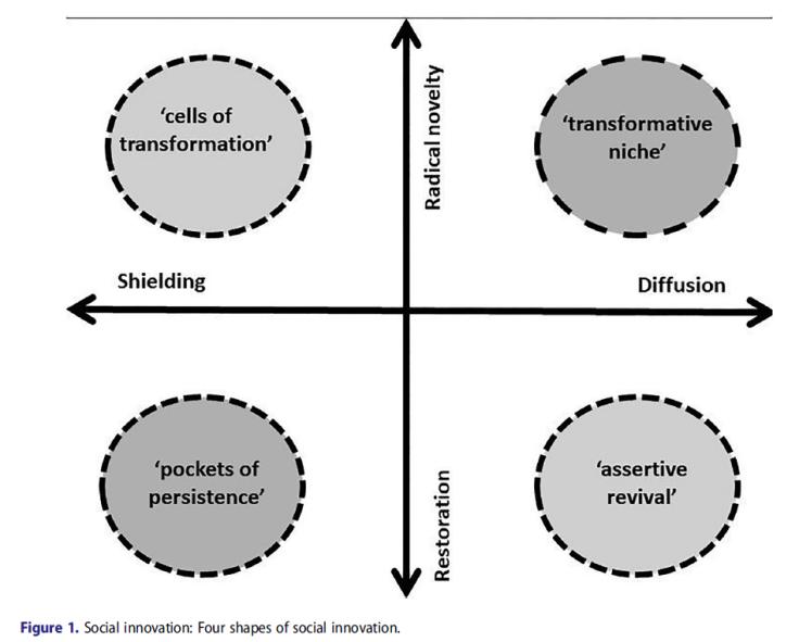social innovation four types
